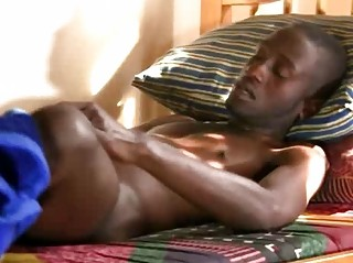 A Morning Boner Added to Drenched Blowjob For Black Boy
