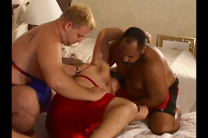 Three horny big wrestlers want some hot profane sex