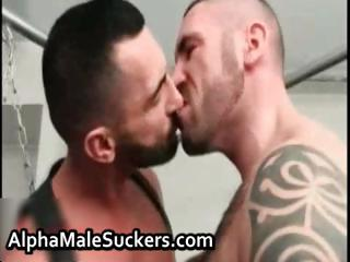 Super hot gay men fucking together with sucking