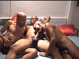 You wouldn't believe what these three hot inky studs are into. They...