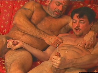 Andrew Addams asshole gets licked off out of one's mind Muscle Mikes dirty tongue...