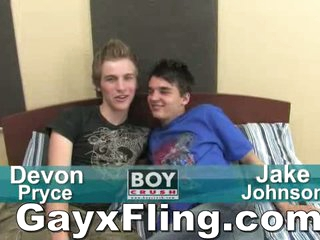 Hot Twinks Carrying-on Wild