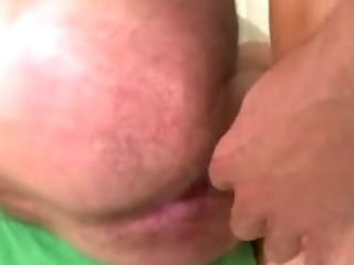 Straight turned gay brick blows his load