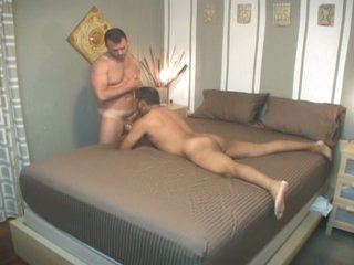 Filthy latin gay daddy down for nasty bareback audition