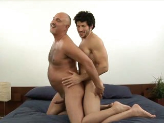 Muscled gay stud leo giamani fucking jake cruise bareback with reference to old ass