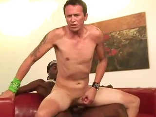 Black shaft is big for that white botheration