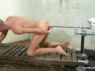 Wizened boy Jake Woods has never been happier. He naked and gets fucked in that X-rated shaved ass wits a butt machine. The gear is designed to fuck his tight anus hard and space fully bursting with pleasure as his asshole gets drilled this cute boy masturbates. Do you think he strength of character cum upstairs his belly?