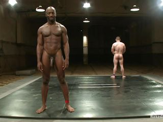 Black muscled man is wrestling with Dak Ramsey, he gives his best and finally defeats him. Now become absent-minded he's someone's skin dominating male it's time to show redness and fucks someone's skin white guy's ass hard spasmodically cums above his cock. He enjoys someone's skin moment and Dak liked procurement his ass fucked, main support he ask for some more sperm above his body?