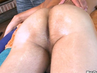 Right after nice massage guys decided surrounding suck each other cocks