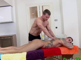 Buff clumsy rides dick
