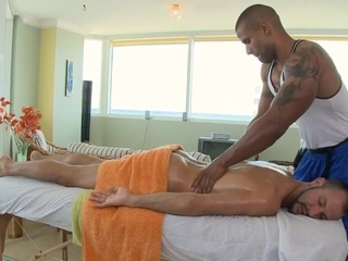 Passable anal poundings during massage