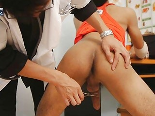 The Blowjob Therapy Of Horny Gay Doctor