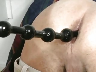 Hot close up be advisable for a powered gay taking sexual intercourse balls up his bore space