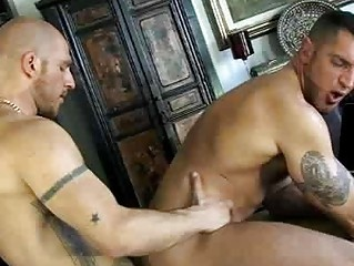 French gay gay blade got his unearth blown by undecorated stud