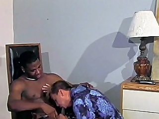This awesome interracial gay sex shore up steady begins forth macho black hunk...