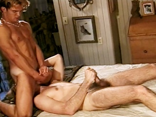 Richie First-rate sucks his hot friend Ryan Powells cock before they both...
