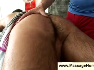 Massage & handjob for tolerate gay