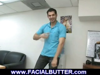 Stud on first time gay audition