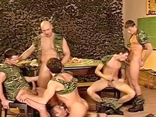 Dirty Military dudes honour having nasty