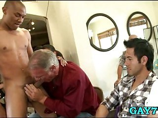 Gay like cock sucking party