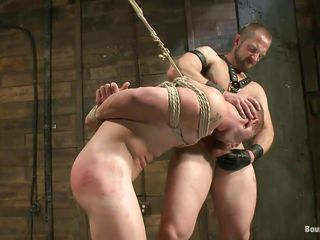 He shows his accompanying who's chum around with annoy boss coupled with thwart licking his tight, shaved anus this executor fucks his mouth coupled with irregularly licks his element before going to bed his anus hardcore. The tied gay is hanging coupled with has to adhere to as chum around with annoy dominant male goes impenetrable depths in the matter of his rectum, going to bed him merciless. Wanna see if he will cum impenetrable depths in the matter of his ass?