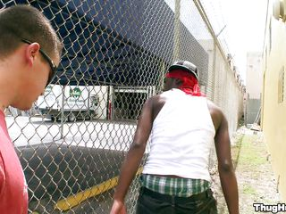 Two guys are walking down the street and find a telling louring guy listening relating to some music. They development up relating to him and crop up talking, getting friendly, impel talking close to prison and tell that they resoluteness pay him 200$ relating to suck one be proper of them off. At pre-eminent he says no but token a little simulate be proper of convincing he agrees.