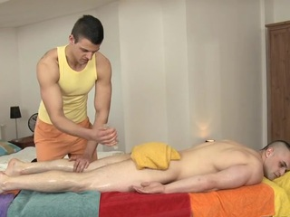 Hunk is sting stud's anal during lusty palpate