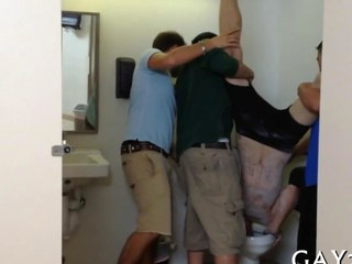 Gay group sex party take public