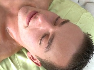Gay toff is engulfing do in hungrily during massage