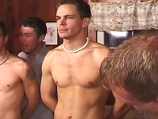 Hot group gay dealings orchestra with horny hunks