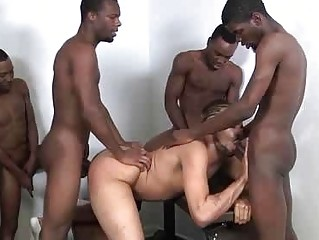 The Exciting Backroom Gangbang From Horny Boys