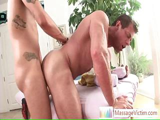 Muscled guy getting his ass fucked hard and impenetrable depths By Massagevictim