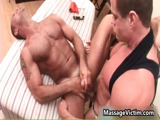 Men's room Marcus gets his tight ass massaged