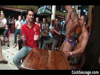 Huge group gets crazy up the club 6 part1