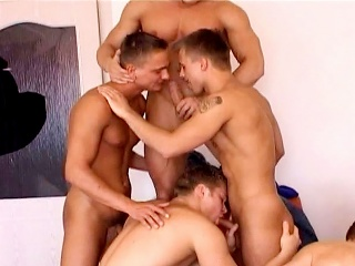 Seven On One Gang Bang Experience #02...