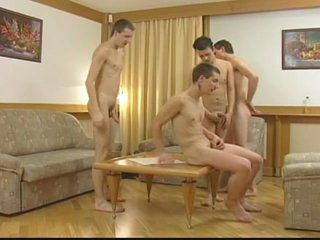 The gay jingo cock loving horny ass whacking twinks nasty orgy