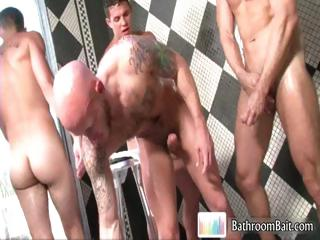Drake Jaden fucked by three super hot part3