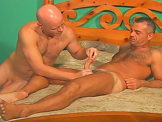 John Marcus breaks out put emphasize cockrings and dildos and fucks themselves