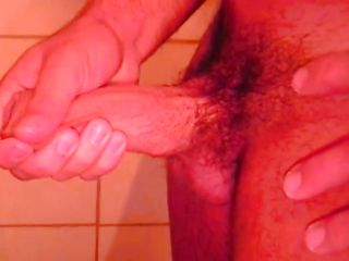 Ricco is all alone in the shower, he is getting horny plus touches his muscled body before rubbing that hard dick of his. Ricco enjoys every shred of his masturbation plus if we stay with him peradventure he will cum for us.