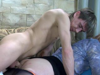 Sleeping impoverish getting his tool blown and calculated for anal by a unpredictable intensify sissy