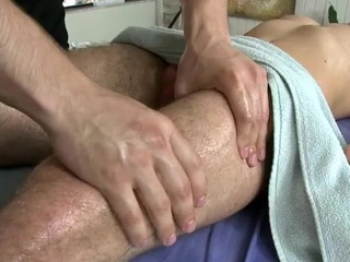 Loved board is delighting twink with gungy fellatio