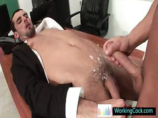 Jake getting his cute ass fucked lasting at the end of one's tether workingcock
