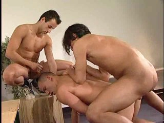 Blissful anal triumvirate with perfect Turkish guys