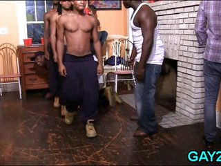 Ebony chaps try gays dick