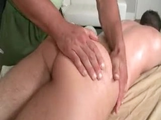 Rub-down Turns Into Gay Fucking Added to Sucking 5 Unconnected with GotRub