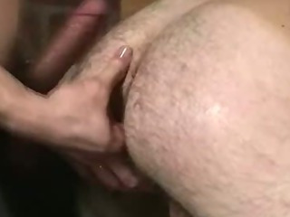 Handcuffed hunk getting his grasping arse fucked hard