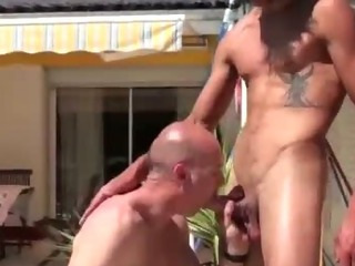 Hunky public merry amateur frenchies