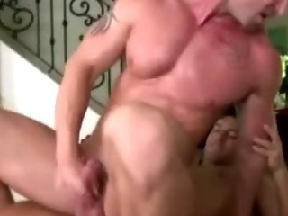 Gay masseur assfucks fit tattooed straight guy's miserly opening
