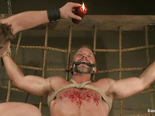 Dirk Caber is nearly to learn a lot nearly pleasure increased by pain as his executor pours hot wax on his chest after sucking his hard juicy penis with lust. His cock increased by balderdash are likely hard increased by he can't oppose because he's hands increased by feet are likely thorough hard. What kinds of punishment will he endure next?