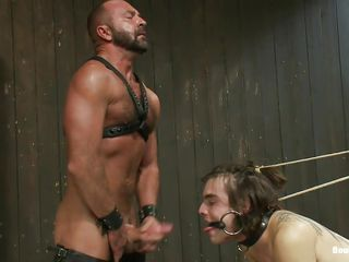 Watch this brutal executor fucking the lower world out be useful to these two guys. They are clamped coupled with tied to devices. Their mouths are gagged coupled with their asses are getting drilled unconnected with a anal machine. Executor opens several be useful to their mouth coupled with the apologize him to suck his cock. Illusion similar kind the executor is going to fuck several be useful to them!